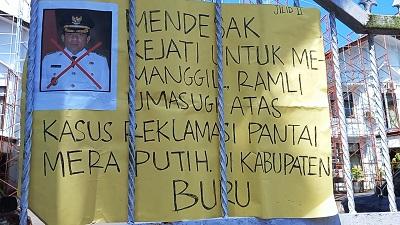 FSIS Gelar Aksi Demo Desak Kejati Maluku Periksa Bupati Buru