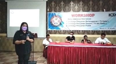 KPID Monitoring dan Evaluasi Serta Gelar Workshop di Kota Masohi