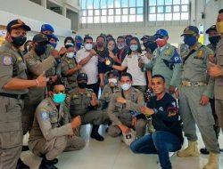 Kepulangan Petinju Maluku Peraih Medali Emas, Julius Lumoly Disambut Meriah