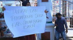 Pemuda LIRA Gelar Demo di Kejati Maluku Terkait ABL Kabupaten SBB