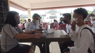 Jelang HUT Ke-76 TNI, Pemkot Bersama TNI Gelar Serbuan Vaksinasi